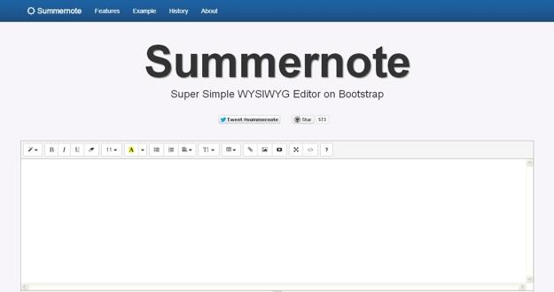 summernote
