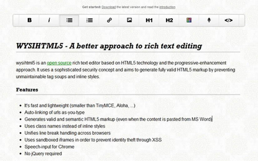 25 Super Useful HTML5 Tools for Developers - WebToolsDepot