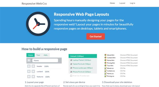 responsive-web-page-layout
