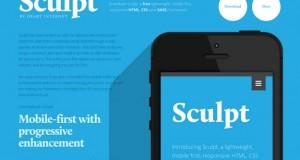 Sculpt : Free Responsive Framework by Heart Internet