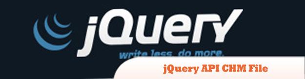 jQuery-API-CHM-File