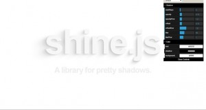 Shine.js : JavaScript Library for Pretty Shadows