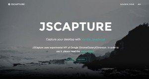 JS Capture : Capture Your Desktop with Vanilla JS