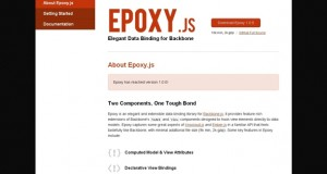 Epoxy.js : Data Binding Library for Backbone