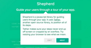 Shepherd : Guide Your Users Through a Tour of Your App
