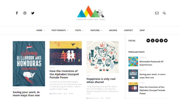 HEAP WordPress Theme
