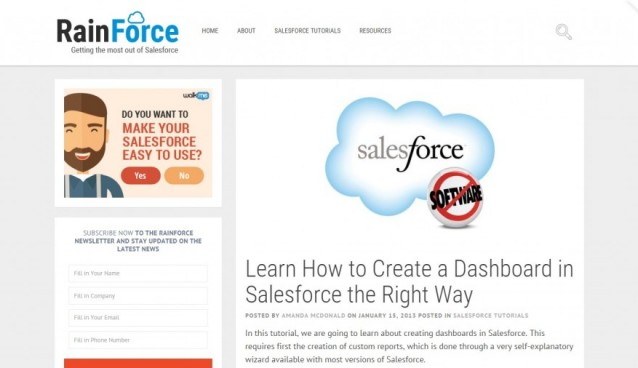 Learn How to Create A Report In Salesforce