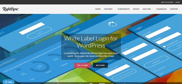 white label login for wordpress